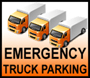 Emergency Truck Parking Information