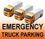 Emergency Truck Parking logo