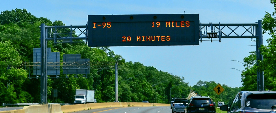 Highway Message Signs