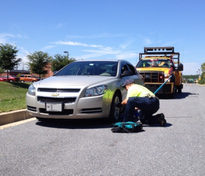 Motorist Assist Tire Change